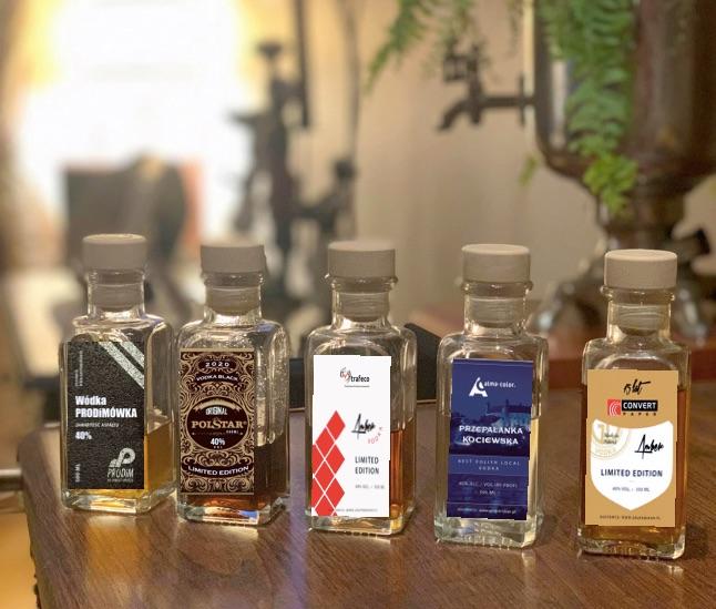 alkohol w buteleczkach